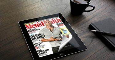 Flip PDF Gratis sul tablet con un effetto di capovolgimento di pagina