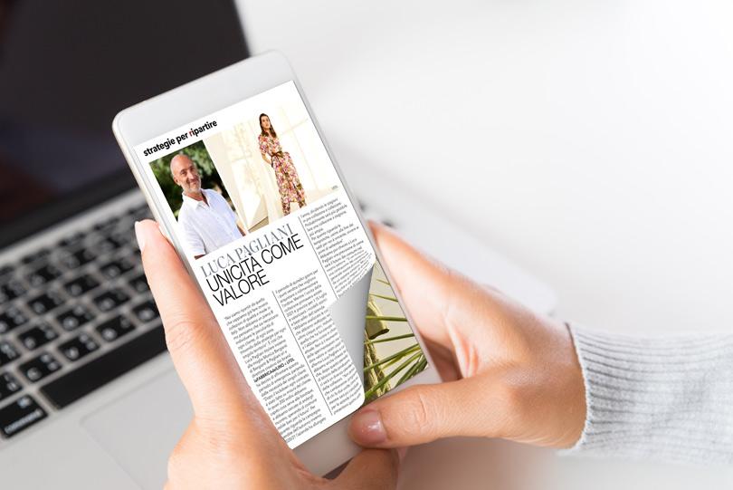 Page flipping sul tablet con un effetto di capovolgimento di pagina